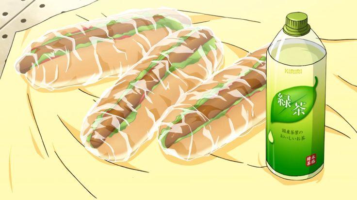 Hotdogs and tea! Noragami Aragoto, Episode 2