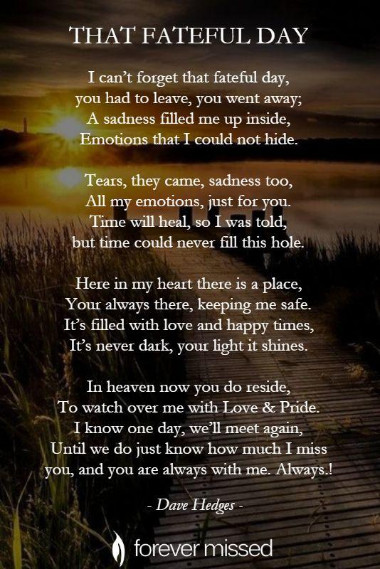 Loved missing ones my Family Members