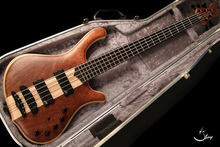 Mayones Victorious Classic 5 Transparent Natural Matt Master class bass From Mayone