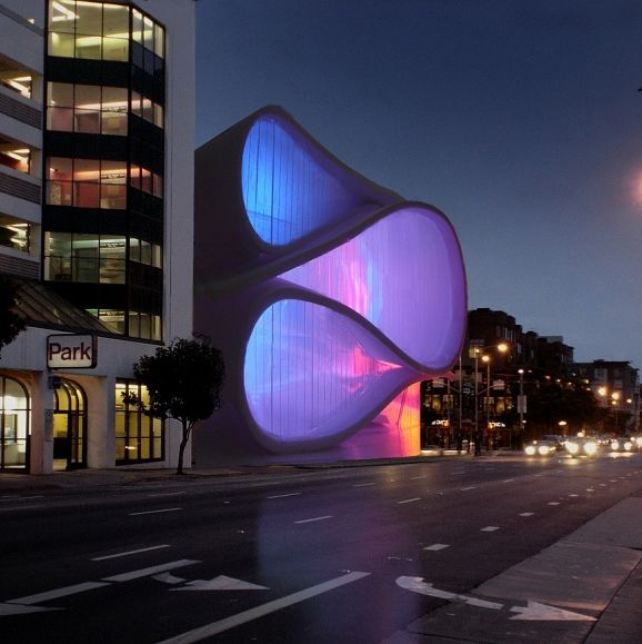 Museum of Performance and Design proposal by Architect Mark Dziewulski