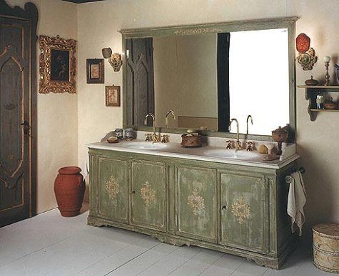 country bathroom vanities - Country Bathrooms Designs