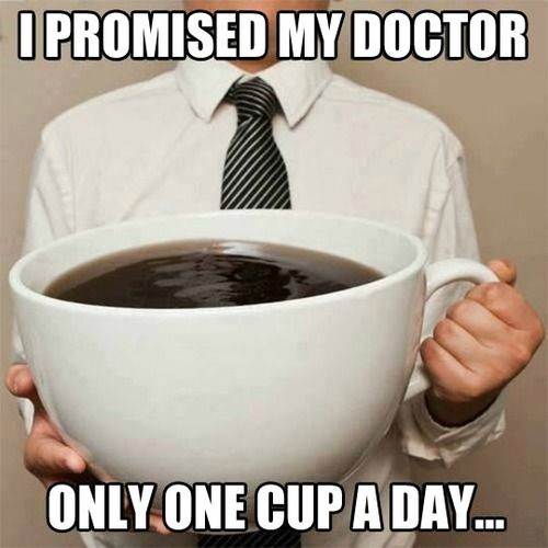 It is only ONE cup..haha.