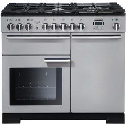 Cooker 100cm £1700 approx. Royal pearl colour. Rangemaster professional deluxe