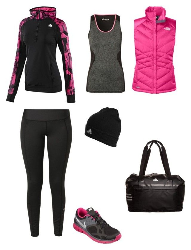 U0026quot;fuxiau0026quot; By Sharon-644 Liked On Polyvore Featuring Moda Adidas The North Face NIKE Y Plus Size ...