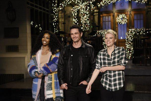 James Franco hosts SNL with musical guest SZA tonight on NBC #SNL #JamesFranco #SZA http://lenalamoray.com/2017/12/09/james-franco-hosts-snl-with-musical-guest-sza/