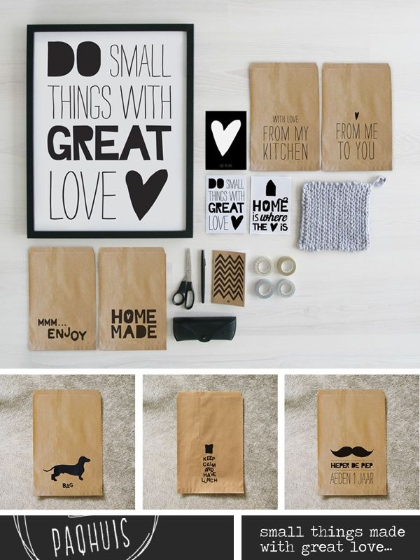 do small things with great love <3