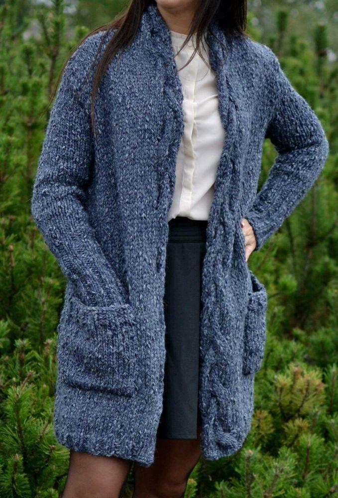 Women's elegant cotton hand knitted sweater | eBay