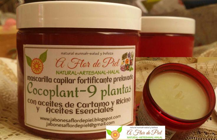 Tratamiento/Aceite Capilar Fortificante COCOPLANT-9 PLANTAS aceites de Coco,Ricino,aceites esenciales y extracto de 9 plantas de jabonesaflordepiel en Etsy