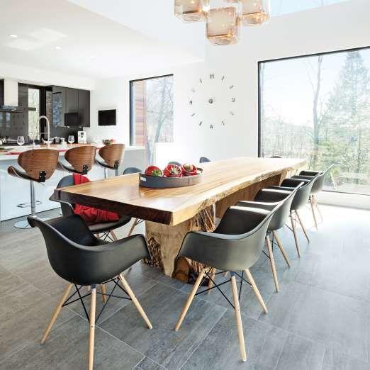 Vous aimerez aussi: Salle à manger: 25 décors pour vous inspirer - ®copyright Éditions Pratico-Pratiques / Aménagement: Virginie Roy-Villeneuve, architecte, Steve Gira...