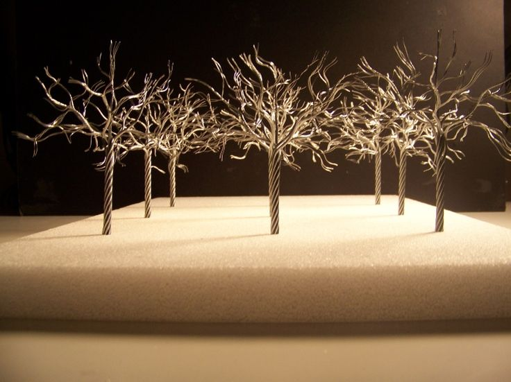 Bosque of trees model by Jay Ryan