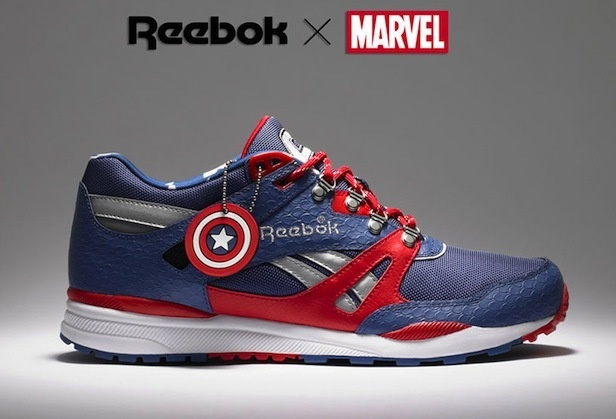 See men can post shoes too!: Shoes, Marvel, Style, Captainamerica, Captain America, Limited Edition, Sneakers, Reebok