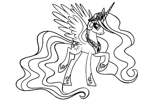 Princess Celestia Coloring Pages Best Coloring Pages For Kids My Little Pony Coloring Pony Drawing Princess Coloring Pages