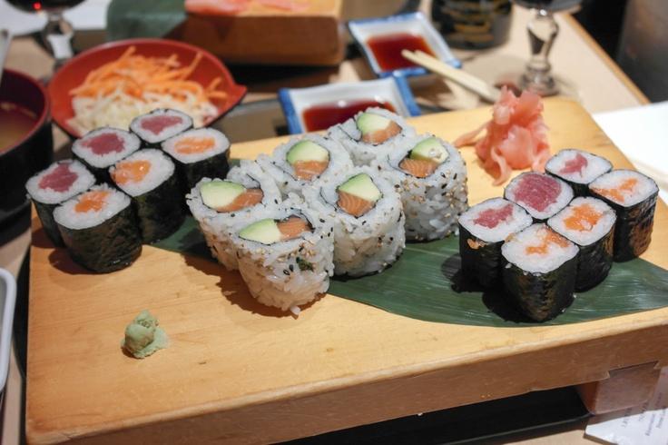 Sushi at Naoko in Paris