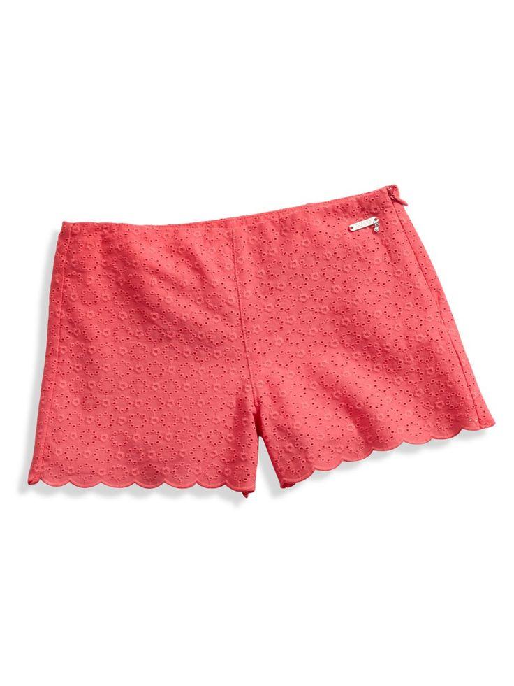 Eyelet Shorts (7-16)