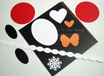 Add Ink and Stamp: Penguin Candy Bar Cover-tutorial