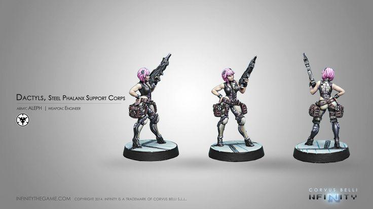 Dactyls, Steel Phalanx Support Corps