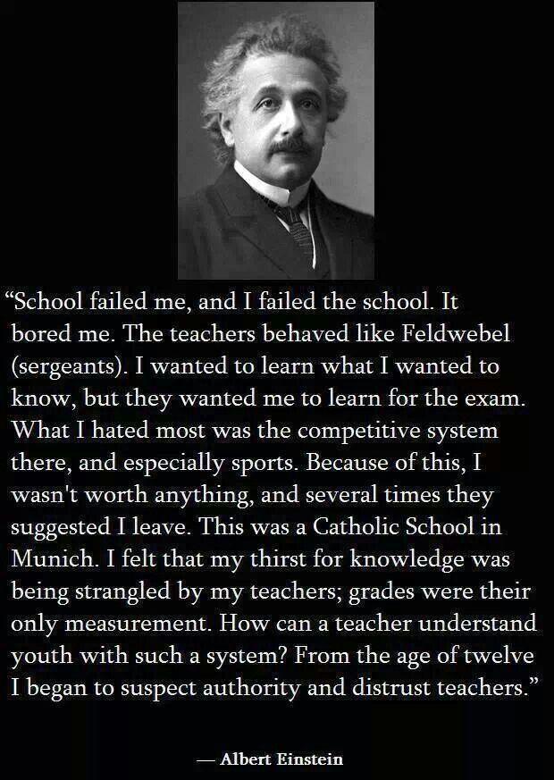 24 best albert Einstein images on Pinterest #2: 39c8ddb eee07fe664a47a44f albert einstein quotes education system