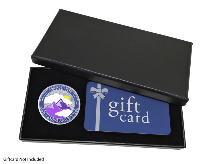 """5 Gift Boxes + 5 """"Above and Beyond"""" Coins"""