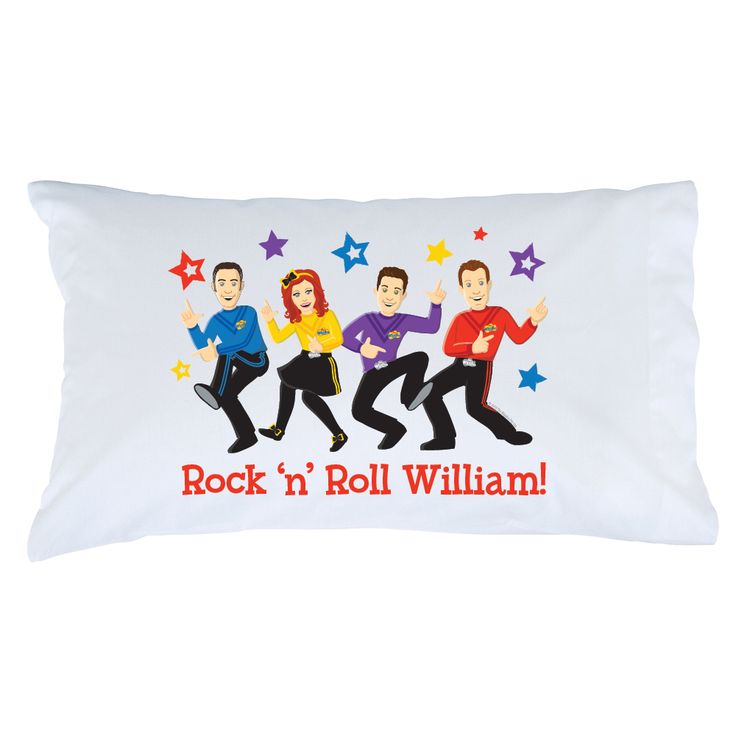 The Wiggles Rock 'n' Roll Pillowcase - Bedding & Blankets ...