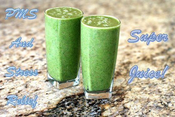 A Super Stress Relieving and PMS Busting Smoothie!