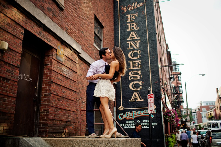 North end | Boston Engagement Photographer | Symbol Photography.   #bostonengagement  #engagementphotographer  #engagementphotography  #bostonengagementphotographer #symbolphotography