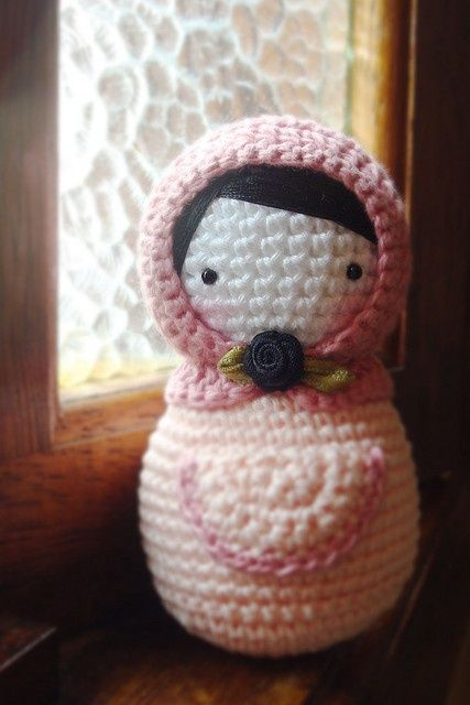 Crochet Matrioshka.