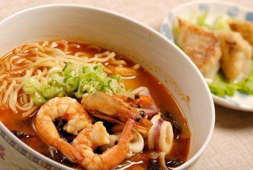 Яки удон (лапша с морепродуктами по-японски)