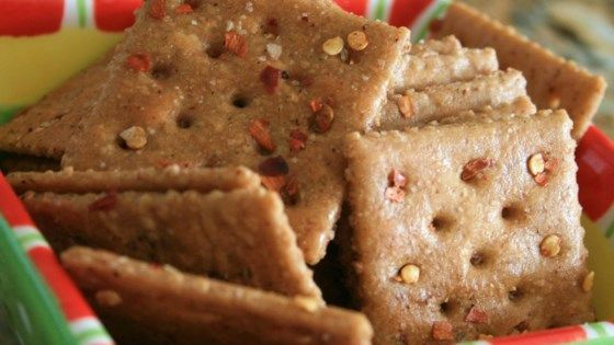 FIRECRACKER CRACKERS  spicy crackers are great with a salad, dips, or chili!