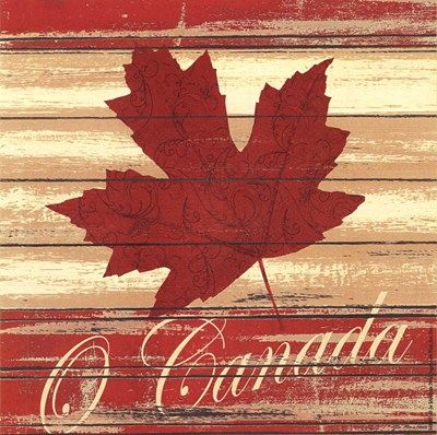 O Canada Art Print by Jo Moulton                                                                                                                                                                                 More