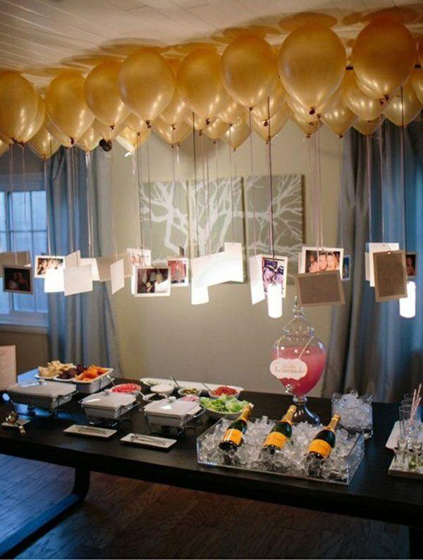 Die besten 25+ Geburtstagsdeko Ideen auf Pinterest DIY - servietten falten tischdeko esszimmer