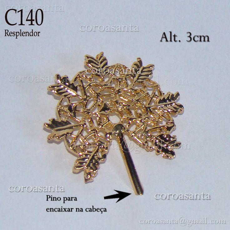Coroa Santa Arte Sacra: Coroa Santa Arte Sacra - Resplendor ref.:C140