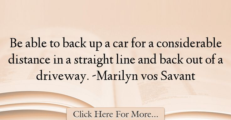 Marilyn vos Savant Quotes About Car - 8447