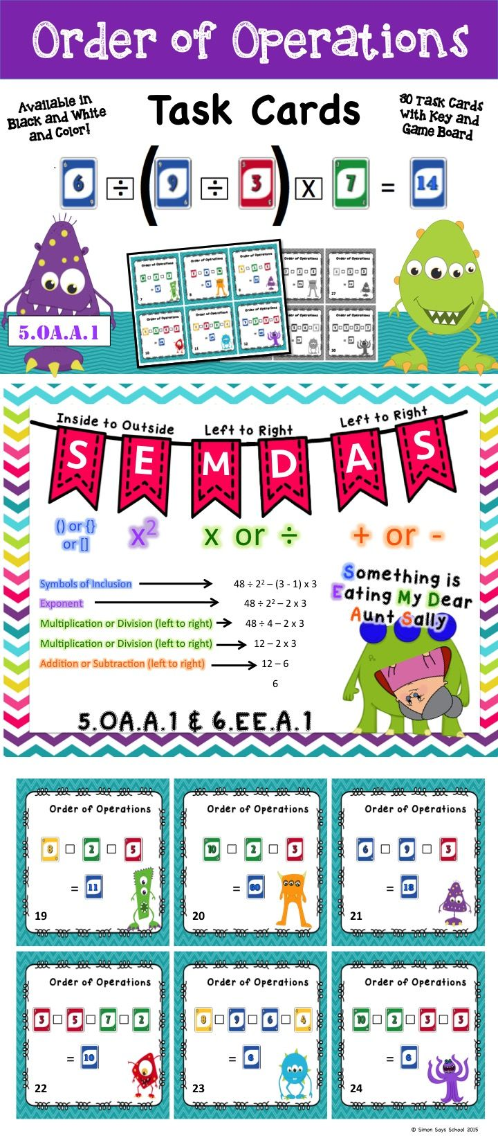 89 best My TPT Products images on Pinterest | Differentiation, Math ...