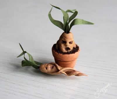 Mandrake tubers Elämää koossa 1:12: Harry Potterin innoittamaa