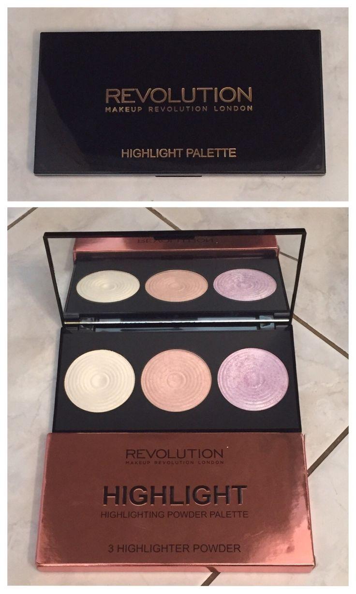 Glam With Sam | Makeup Revolution Highlight Palette