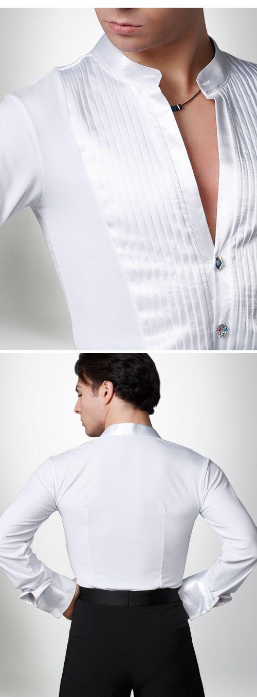 Dancemo Mens Latin Body Shirt 92024051