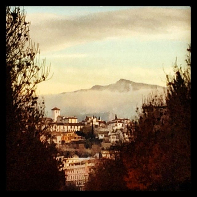 I love the Alhambra, the mountains in the background and the Islamic influences in the city.