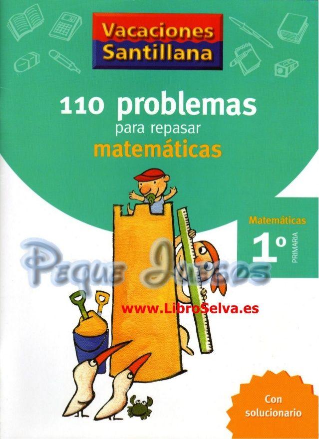 110 problemas de matematicas pdf primer grado