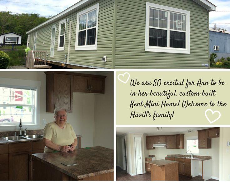 Welcome home Ann! We love your beautiful custom built Kent Mini Home! :)