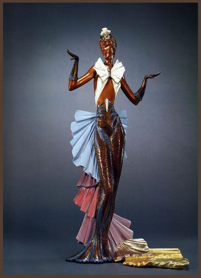 1000+ images about erte bronze sculpture on Pinterest   Jalousies ...