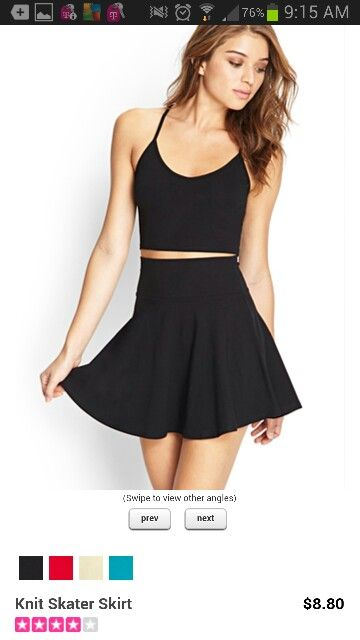 fashion womens RORESS closet ideas fashion outfit style apparel Knit Crop top and Black Skirt fashion womens Find this Pin and more on Woman's Fashion by 🌀 Ultimate Gallery™. Receive the newest, right from the run-way, outfits, hollywood looks, and style advise for young people.