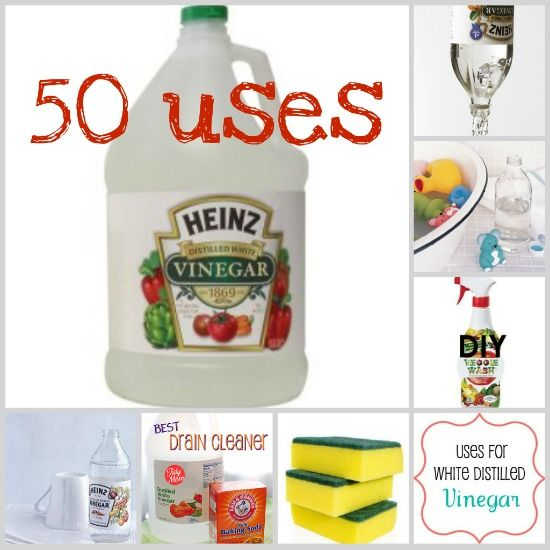 50 uses for vinegar ...who knew? #tips
