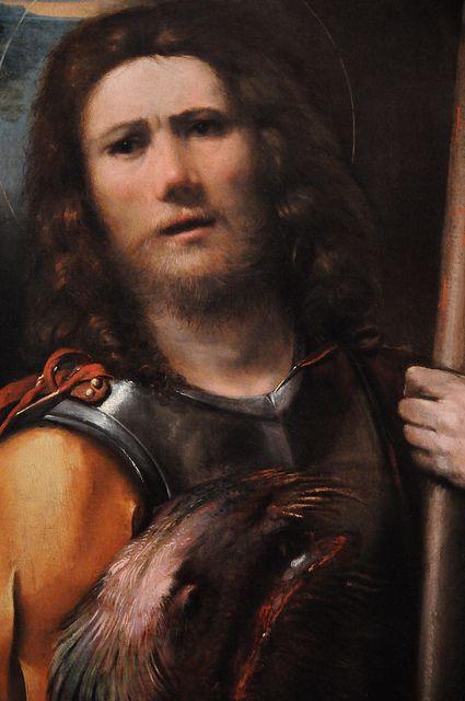 Saint George, 1513-1515, artist - Dosso Dossi (Giovanni di Niccolò de Luteri)