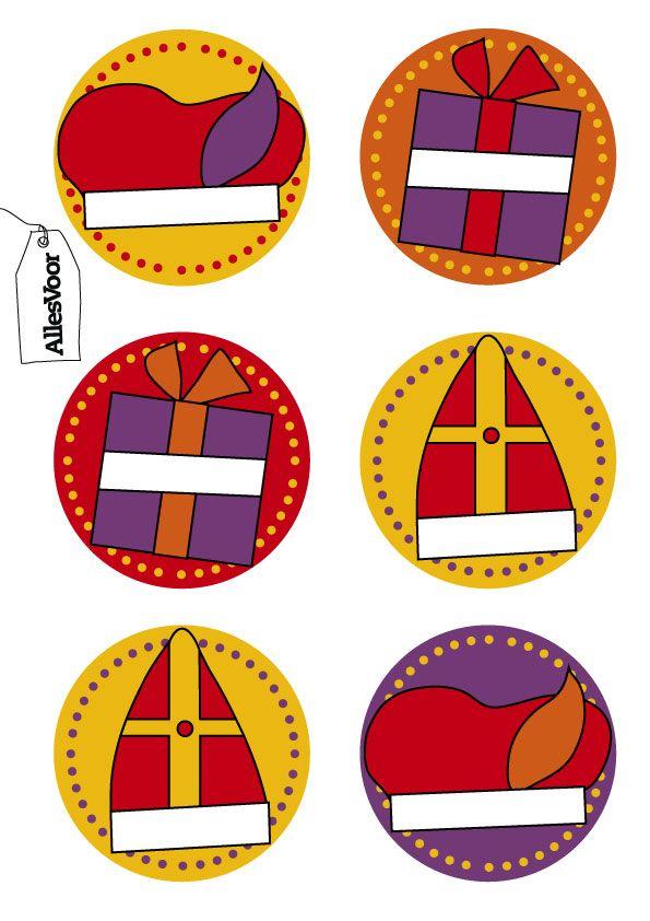 Naambuttons voor de Sint! #AllesVoor #Button #Sinterklaas #Sint