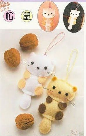 DIY Cute Felt Cat - FREE Pattern / Template