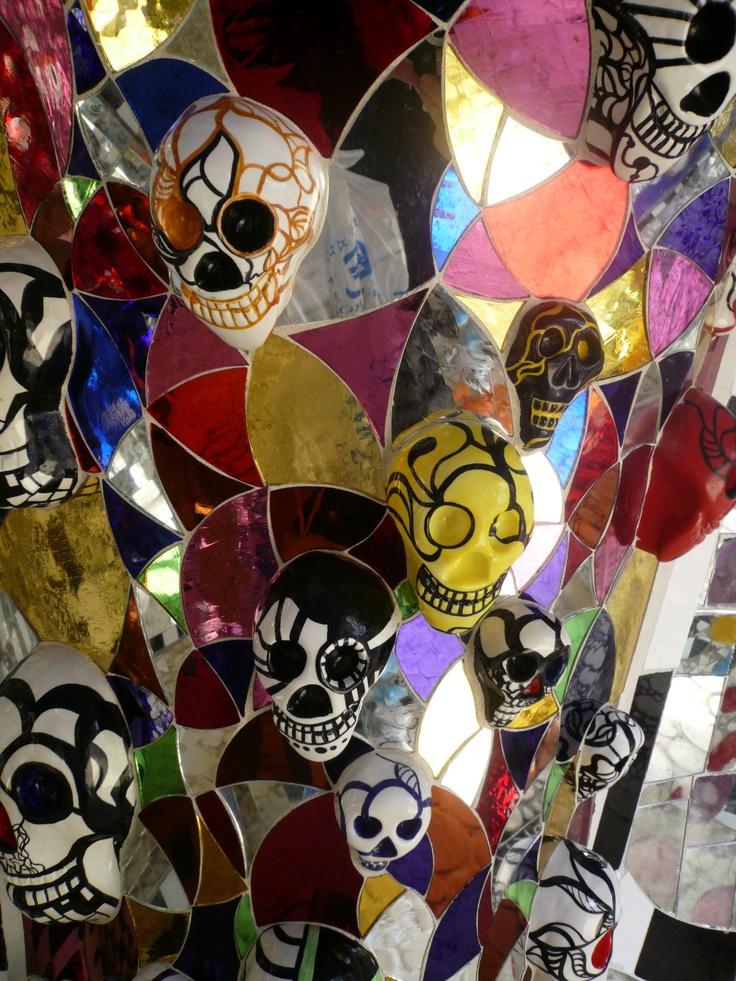 """Niki de St. Phalle: """"The Emperor"""", The Tarot Garden, Italy"""