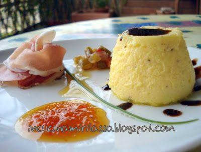 Sformatino di Parmigiano Reggiano all'Aceto Balsamico Tradizionale
