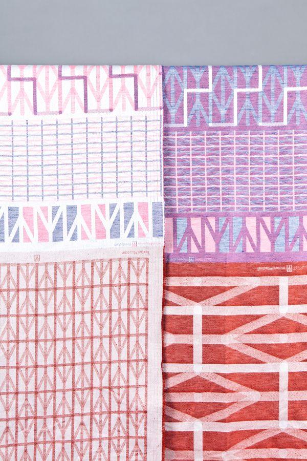 Tea towels, design RAW COLOR, production TextielLab Tilburg