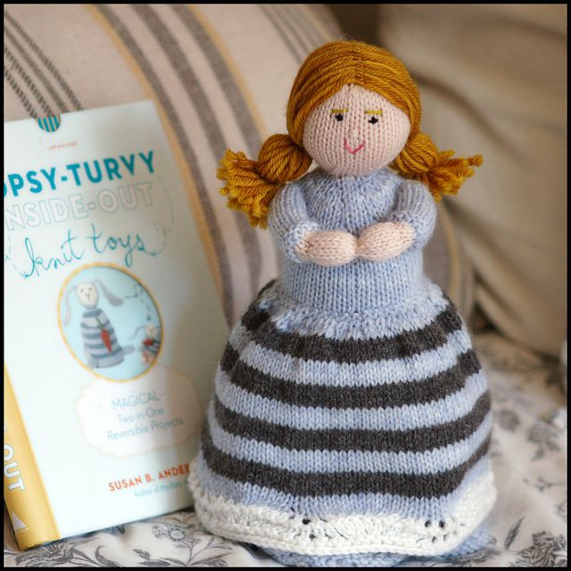 1000+ images about Crocheted and Knitted Topsy Turvy Dolls on Pinterest Toy...