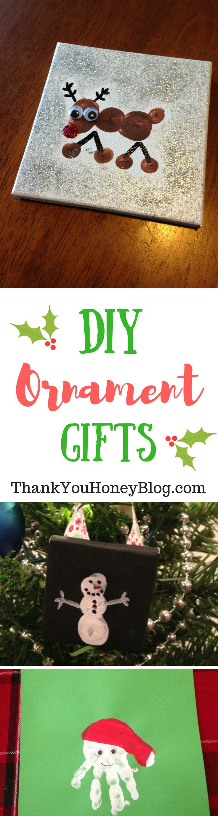 Last Minute Kids DIY Ornament Gifts Thank You Honey, Last minute, Holiday, DIY, ornaments, Presents,Last Minute Kids DIY Ornament Gifts, Gifts, Kids, Crafts, activities,Christmas, Holiday Kids Crafts,